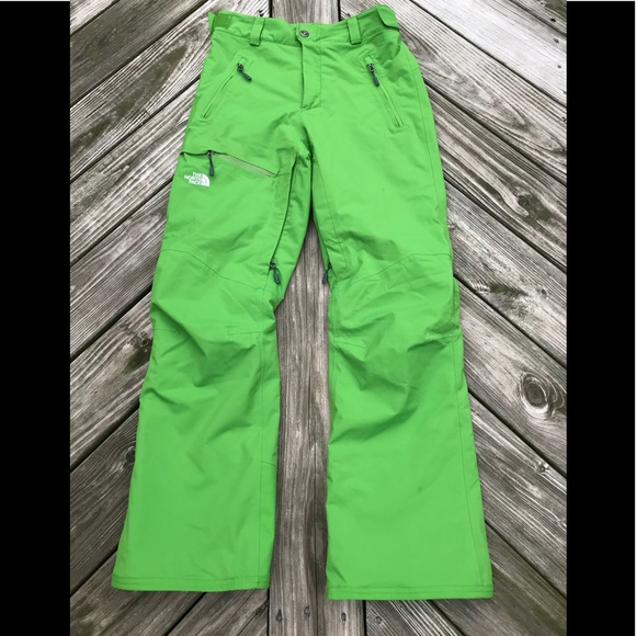 1631a6e6d Men's The North Face Freedom Ski Pants Green Small